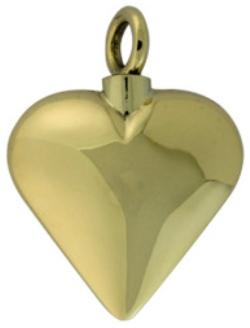 Assieraad gouden hartje ashanger