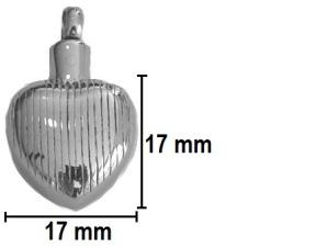 hartvormig ashangertje assieraad