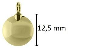 rond assieraad goud ashanger