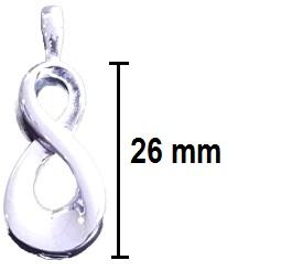 ashanger infinity teken gedenksieraad