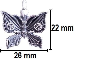 ashanger vlindertje gedenksieraden