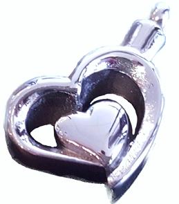 ashangertje dubbel hart assieraad