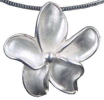 ashanger bloem zilver