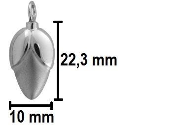 ashanger bloemknop gedenksieraad