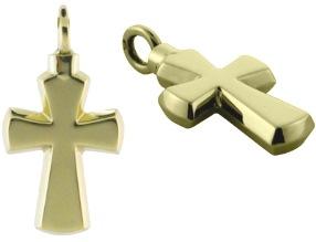 ashanger gouden kruisje assieraad