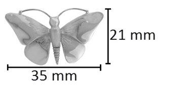 ashanger vlinder assieraad