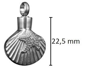 ashanger schelp gedenksieraad