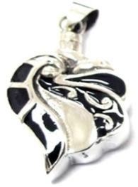 sierlijke ashanger zilver assieraad