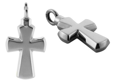 ashanger kruis zilver geloof gedenksieraad
